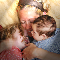 hannah waldman and family mother and baby pregnancy yoga baby massage brighton and hove yoga studio