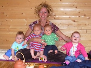 Hannah Waldman mother and baby yoga teacher hove